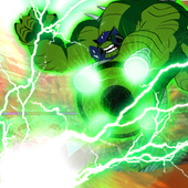 Alien Ultimate Ben - Ultimate Humangosaur Power 1