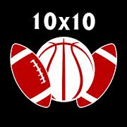 10x10 - Sports SquaresTechnetronBoard