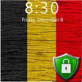Flag of Belgium Lock Screen & Wallpaper 1.0