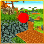 Red Bouncy Ball Balance Pro 3D 1.0