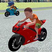 Superhero Tricky Bike Stunt Racing Games Kids Game 1.0