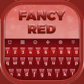 Fancy Red Keyboard 1.0.31
