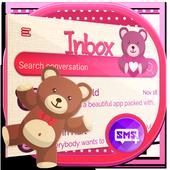 Pink Heart Teddy Bear SMS 1.0.3