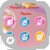 Flower In Water Theme 1.0.0