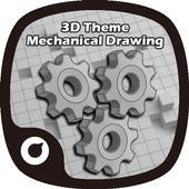3D Mechanical Drawing Theme 1.0.0
