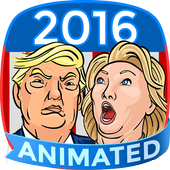 Trump vs Hillary Stickers for SMS Plus 1.0.3