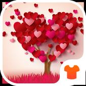 Heart Tree 2018 - Love Wallpaper Theme 1.0.1