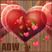 Fabulous Hearts Theme for ADW 3.0