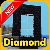 Diamond Portal  mods mcpe + 1.0.0