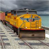 Train Driving Simulator 2018 3D 1.0