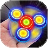 Fidget Spinner Neon Glow Laser 2