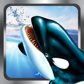 Killer Blue Orca Whale Attack Sim 3D: Whale game 1.2