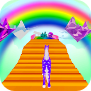 Unicorn Fantasy Run 3D