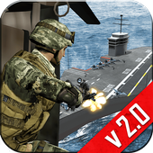 Navy Gunship Shooting 3D Game 2.6