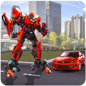 Modern Robot Car War Transform 3D 1.2