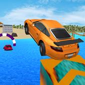 Kids Car Racing: Water Surfer Stunts 1.0