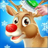 Santa Reindeer Care Salon : Christmas Animal🎅 1.0.1