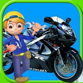 Sports Bike Repair Mechanic