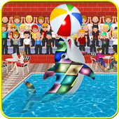 kids Pool Party & Dolphin Show