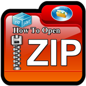 How to open zip files on android 1.0