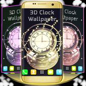 3D Clock Wallpaper 1.286.13.91
