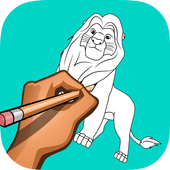 how to draw The Lion King 1.0