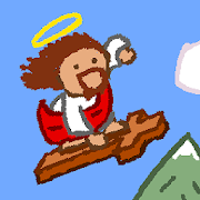 Snowboarding Jesus
