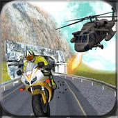 Gunship Thief Attack:Bike Race 1.1