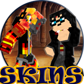 Skins Harry Potter and the Half-Blood Prince MCPE 1.0