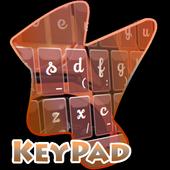 Childish Keypad Cover 2.4 Purple Grey