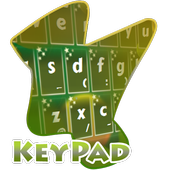 Floating Circles Keypad Cover 2.3 Robin Egg