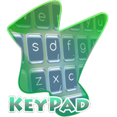 Origami feathers Keypad Cover 1.3