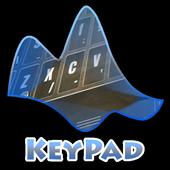 Cave view Keypad Layout 3.3 Dark Maroon
