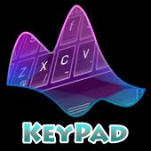 Melting Purple Keypad Layout 2.3 Aqua