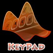 Mixed Orange Keypad Layout 2.3 Neon Red