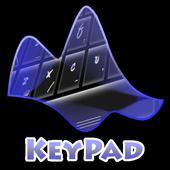 Pitch Black Keypad Layout 2.2 Fluro Green