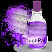 Purple algae Keypad Skin 1.3