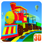 3D Train Engine Driving Game For Kids & Toddlers 1.8