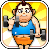 Fat Man Fitness - Mini Games