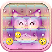 Cute Owl Emoji Keyboard 2.3