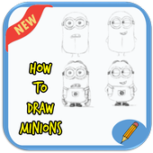 How to Draw Minions Step by Step 1.0