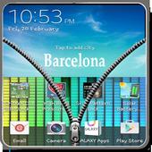 Transparent Zipper Screen Lock 1.1