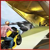 Airplane Moto Bike Transporter 010217