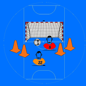 Indoor Football Training White Board 1