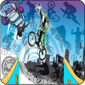 racing bmx freestyle:bike-speed-2D-rush&free&kids 1.0