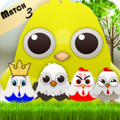 Birds Mania Pop: Match 3 1.3