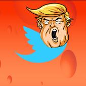 Trump Tweet Rocket Hop Game 1.0