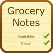 Grocery Notes (with Dictation) 1.0.4