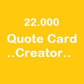 22000 Quote Card Creator 1.05