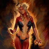 Devil girl live wallpaper 1.1